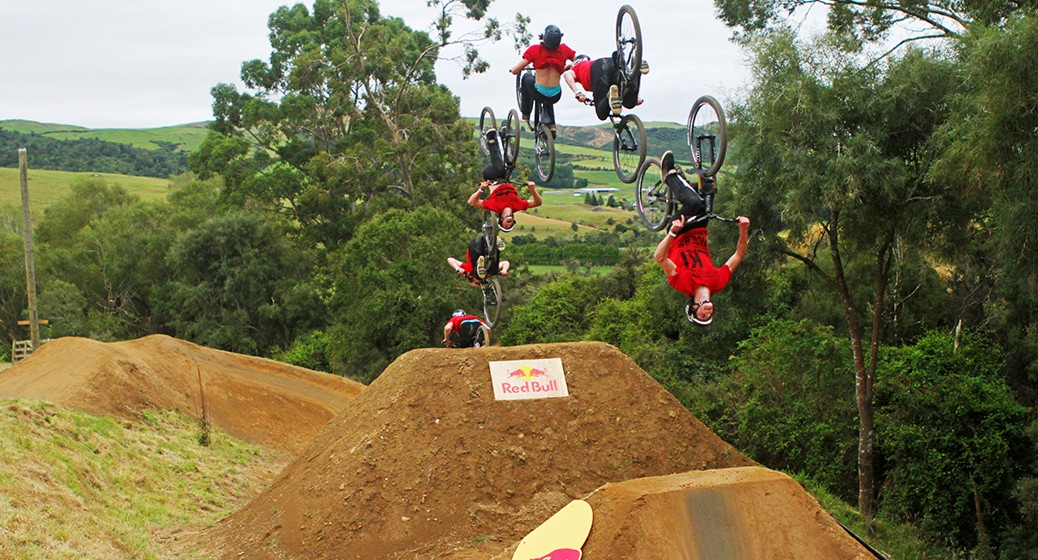 Matt Jones Double Backflip, Farm Jam 2014
