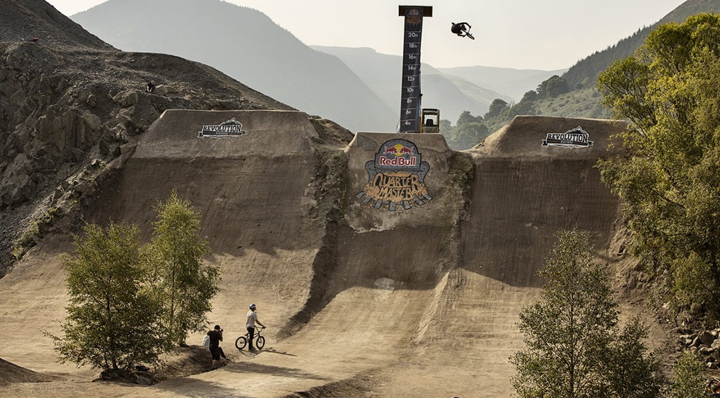 Hucker blowing up the 2014 Quarter Master